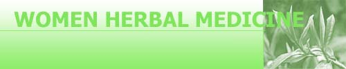 Women Herbal Medicine treatment